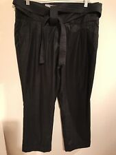 NEXT Women's Black Trousers Size: 14R
