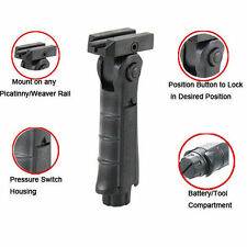 Made In USA Tactical AR 5 Position Folding Grip Vertical Foregrip Picatinny Rail