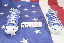 Scarpe CONVERSE All Star basse blu (Cod. SS1316) usato scarpette N.40 EU donna