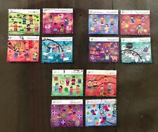 Singapore Stamps 2008 festivals set of 12 postal used Uncommon (minor faults)