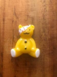 5 x 25mm PUDSEY BEAR CHILDREN IN NEED FLAT BACK RESIN HEADBANDS HAIR BOWS
