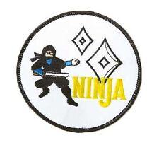 Ninja Aufnäher, Ju-Sports, NEU, Ju-Jutsu Patch, Badge zum Aufnähen