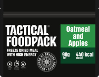 Tactical Foodpack Oatmeal & Apples High Energy Freeze Dried Expedition / Ration