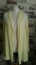 DKNY WOMENS COZY LOUNGEWEAR CARDIGAN DRAPED FRONT SIZE S 8-10 UK