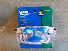Top Paw Gobble Stopper Slow Feeder Medium Fits 6 to 8 Inch Bowl Blue NEW!!!! 8-5