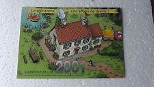 CALENDRIER  SCOUT 2001  UNE AFFAIRE DE FAMILLE COMME NEUF