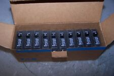 (10) New Cutler Hammer 20 Amp Circuit Breaker 120/240 Vac 1 Pole Br120