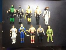 Mortal Kombat Hasbro Figure Lot Movie Reptile Johnny Cage Scropion Karo Smoke
