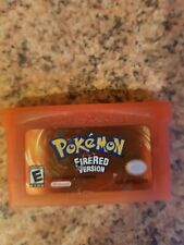 Pokemon Fire Red Game Boy Advance