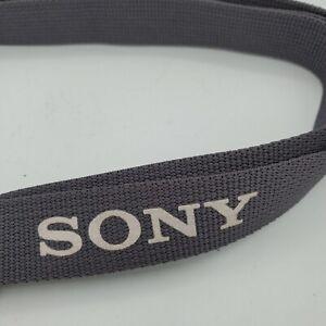 Sony Camera Handycam Camcorder Shoulder Neck Strap Gray Cam A7 Free Shipping