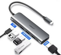 UGREEN USB C Hub, USB Type C 3.1 Adapter with 4K HDMI, 3 USB 3.0, 100W USB C PD