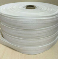 10-METER ROMAN BLIND TAPE 30mm (1 inch) - WHITE - TOP QUALITY POLYESTER