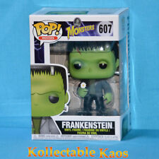 Funko Pop Frankenstein With Flower # 607 Monsters Vinyl Figure