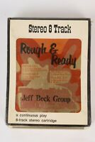 Vintage JEFF BECK GROUP Rough & Ready  8 Track Tape Sealed