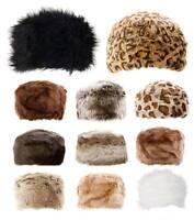 Femmes Cosaque Chapeaux Fausse Fourrure de Luxe Premium Hiver Russe 20 Couleurs