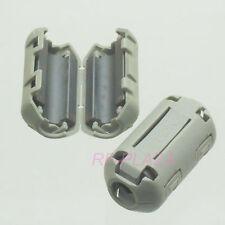 10x TDK Gray-A Φ7mm Cable Clamp Clip RFI/EMI/EMC Noise Filters Ferrite Core Case