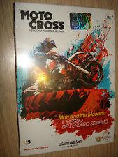 DVD N°12 MAN AND THE MACHINE DELL'ENDURO ESTREMO MOTO CROSS VELOCITA' FANGO