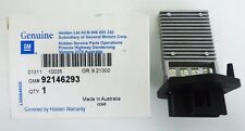 Holden Genuine New Heater Fan Resistor Std Air Con Suits VT VX VY VZ Commodore