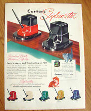 1946 Carter's Stylewriter  Ink for Fountain Pens Ad
