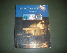American History, Volume 1, Washtenaw Communnity College Custom Edition