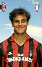 Ac Milan Cartolina Ufficiale 1989-90 Lantignotti Christian!! Nuovissima!