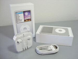iPod Classic 7ème gén 160Go Silver (dernier modèle) nouveau&90 jours de garantie