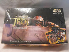 STAR WARS YOUNG JEDI BOONTA EVE SEALED BOOSTER BOX