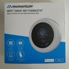 Momentum Meri Smart WiFi Thermostat, Works w/ Google Assistant, Touch BRAND NEW