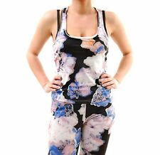 Finders Keepers Women's Run The World Singlet Floral Print Multi Size S BCF65