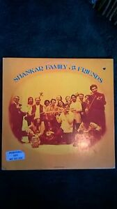 BEATLE Very Rare Ravi Shankar Family & Friends with George Harrison LP