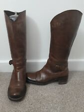 Kenneth Cole Reaction, Brown Leather Boots, With Box, Size 6