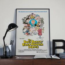 Bugs Bunny Roadrunner Movie Film Cartoon Print Poster Picture A3 A4 Warner Bros