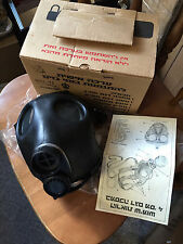 Israeli Gas MASK  WITH CANISTER AND ORIGINAL BOX , NEVER USED