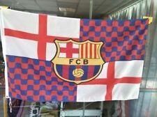 Bandera Tabarnia blaugrana con escudo FCB Barcelona Barça 150x90 nueva