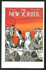 Peter Arno : Copertina per The New Yorker del  1944 - cartolina moderna