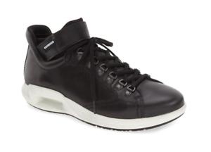 ECCO CS16 High Top Black Men's Sneaker Sz 46 EUR /US 12-12.5 N3405
