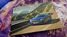 Bentley Continental GT MY18 Softback FULL Sales Brochure 84pg 2018