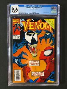 Venom: Lethal Protector #6 CGC 9.6 (1993) - Spider-Man appearance