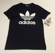 Adidas Adi Trefoil Black White Tee Shirt (M) VINTAGE 2014 RARE MOD MADCHESTER 90