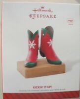 HALLMARK KEEPSAKE CHRISTMAS ORNAMENT - Kickin' It Up! - Magic - Sound - 2014