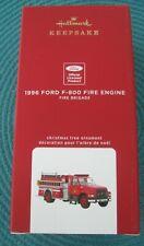 Hallmark 2020 1996 Ford F-800 Fire Engine #18 The Fire Brigade Series New in Box