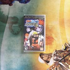 Naruto: Ultimate Ninja Heroes 3 • Sony PlayStation Portable PSP