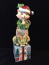 "Jim Shore ""Santa Claws"" 2007 Heartwood Creek Figurine 7.5"" Tall #4007977"