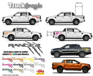 4x4 TRUCK VEHICLE GRAPHICS DECALS STICKERS x2 fits all pickups FORD VW L200 4