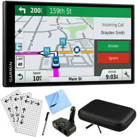 Garmin DriveSmart 61 NA LMT-S Advanced Navigation GPS with Smart Features Bundle