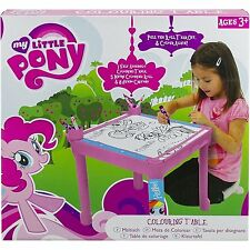 My Little Pony Purple Colouring  Art Table  5 Meter Roll Of Colouring