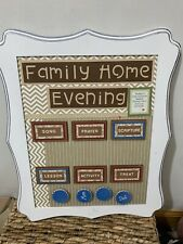 Family Home Prayer chore chart 11x14 Religious Family Magnetic