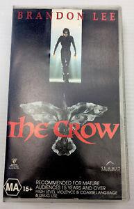 The Crow Brandon Lee VHS Video Cassette Tape PAL MA15+ 1994