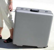 """S and S coupling 10"""" side pull grey hard travel case"""