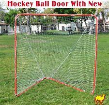 New 6' X 6' X 7' Portable Lacrosse Practice Net Quick Set Up Lacrosse Goal